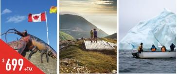 PCF6 爱德华王子岛-布雷顿海角-纽芬兰六天游