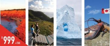 PCFH7 爱德华王子岛-布雷顿海角-纽芬兰-哈利法克斯七天游
