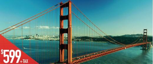 FSG2 旧金山-拉斯维加斯- 洛杉磯七天精华游