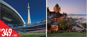 HQT4 魁北克-渥太华-多伦多4天游